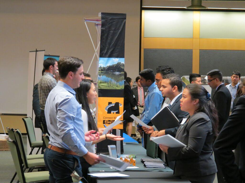 cee career fair delivers connections